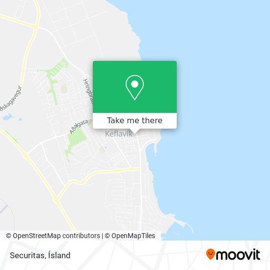 Securitas map