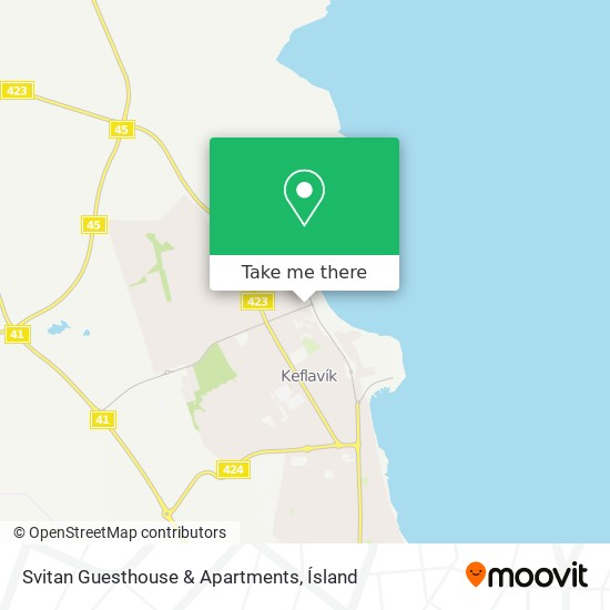 Svitan Guesthouse & Apartments map