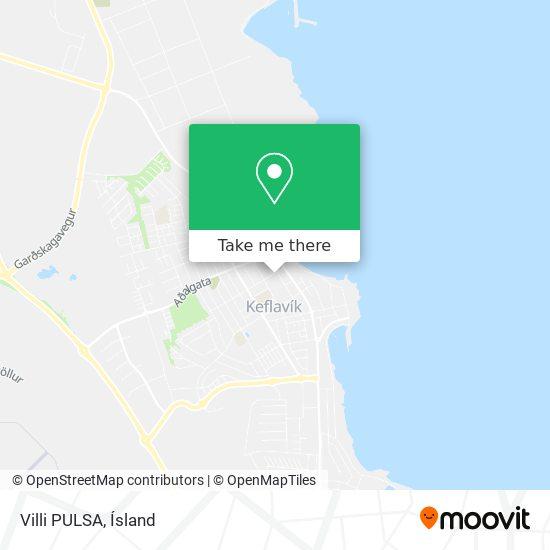 Villi PULSA map
