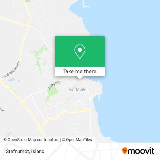 Stefnumót map