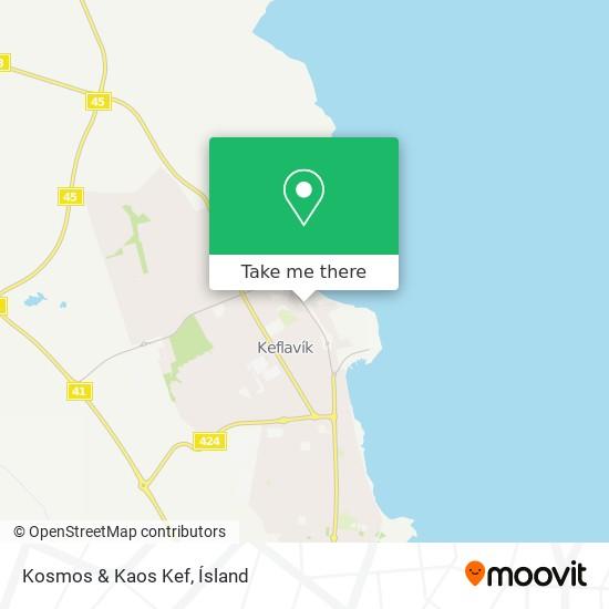 Kosmos & Kaos Kef map