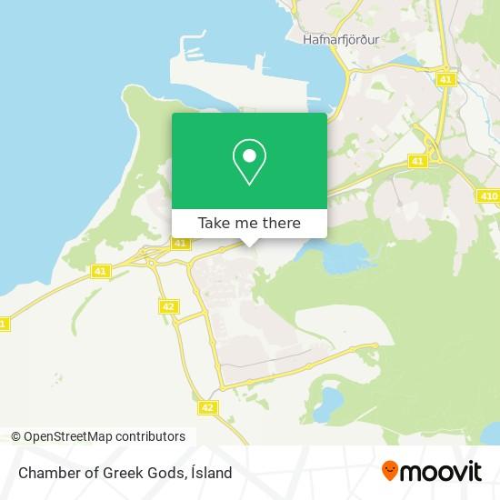 Chamber of Greek Gods map
