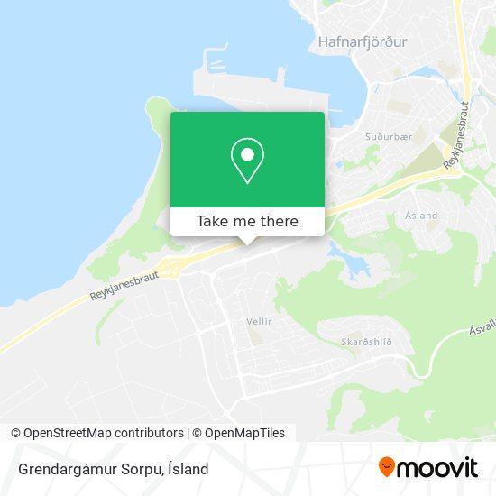 Grendargámur Sorpu map