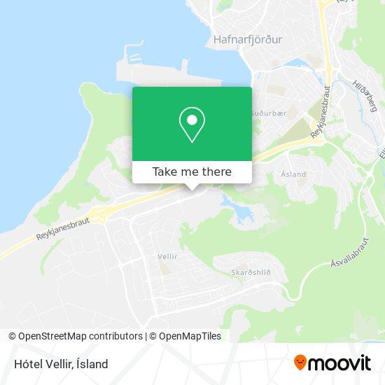 Hótel Vellir map