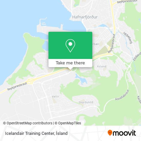 Icelandair Training Center map
