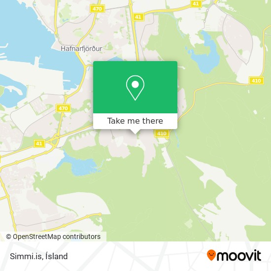 Simmi.is map