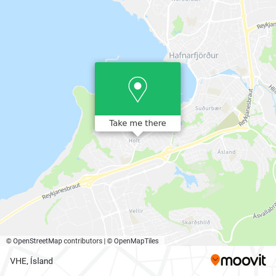 VHE map