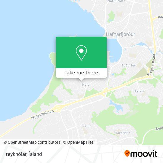 reykhólar map
