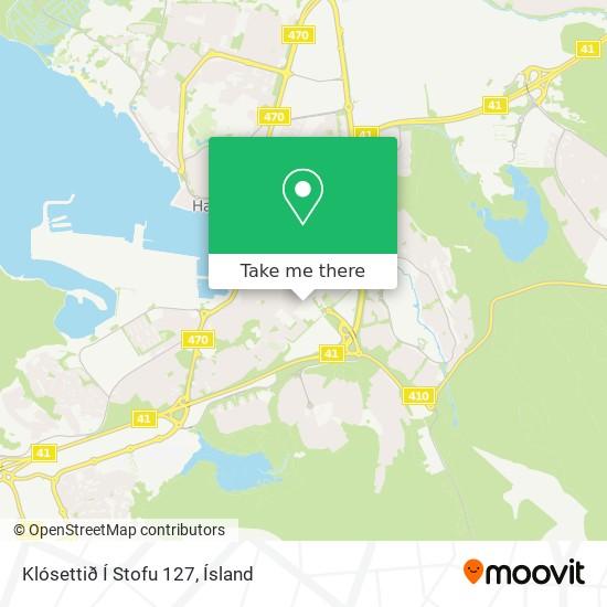 Klósettið Í Stofu 127 map