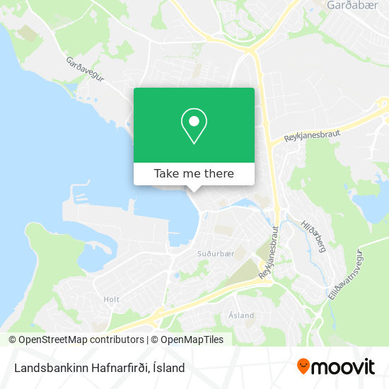 Landsbankinn Hafnarfirði map