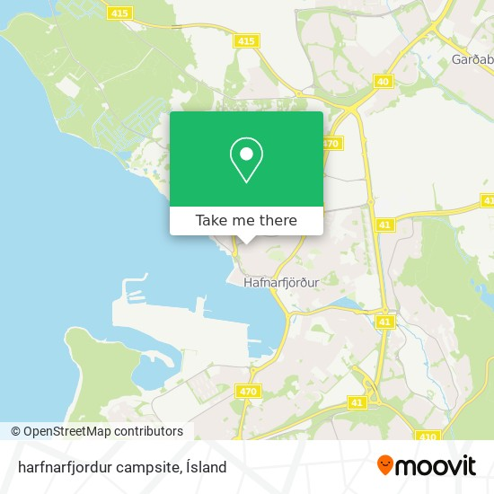 harfnarfjordur campsite map