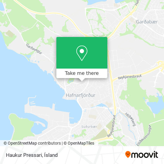 Haukur Pressari map