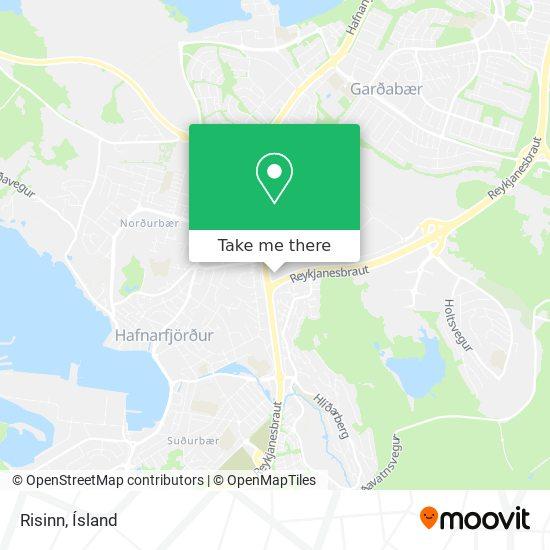 Risinn map