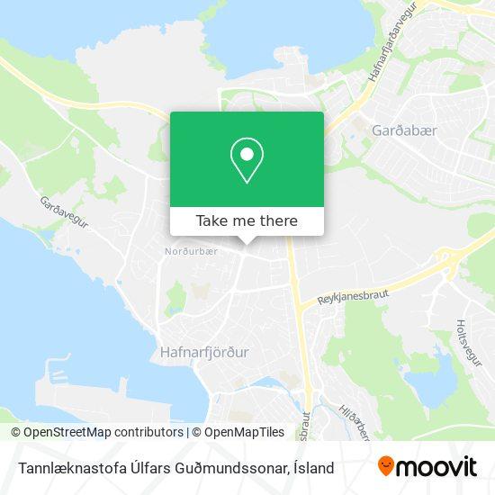 Tannlæknastofa Úlfars Guðmundssonar map