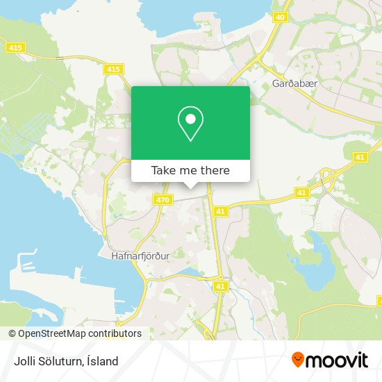 Jolli Söluturn map