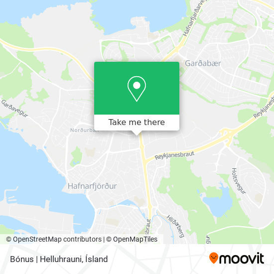 Bónus | Helluhrauni map