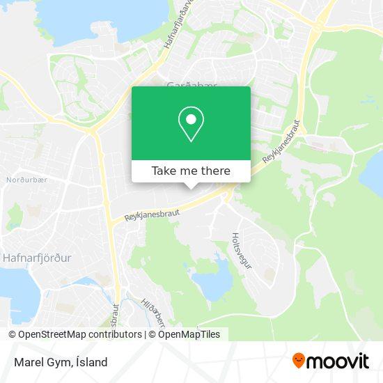 Marel Gym map