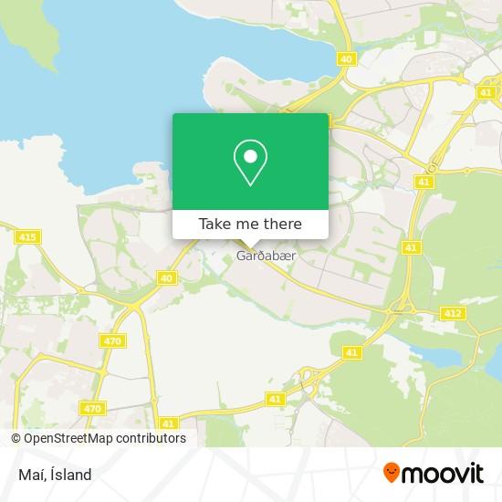 Maí map