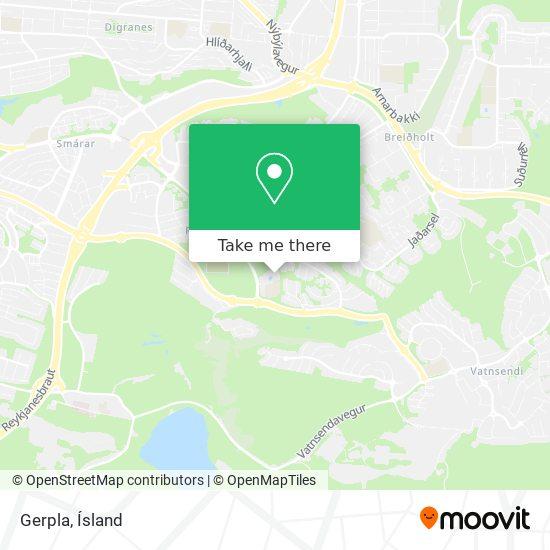 Gerpla map