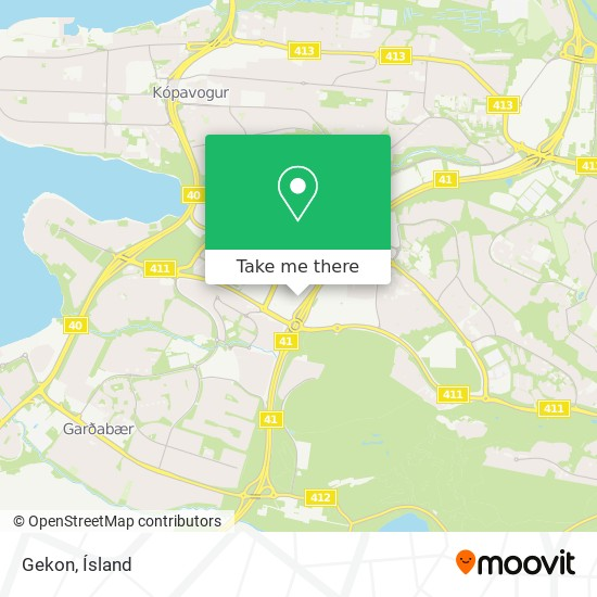 Gekon map