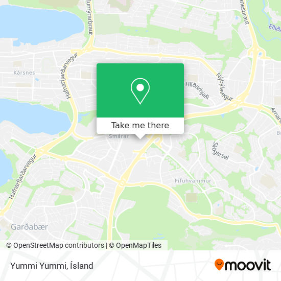 Yummi Yummi map