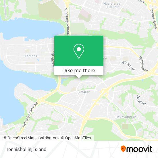 Tennishöllin map