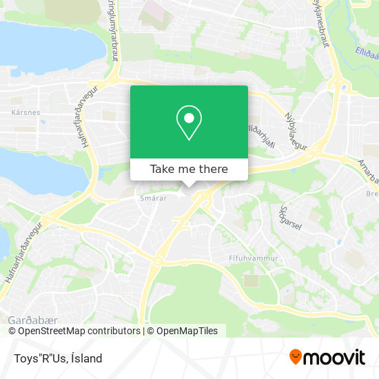 """Toys""""R""""Us map"""