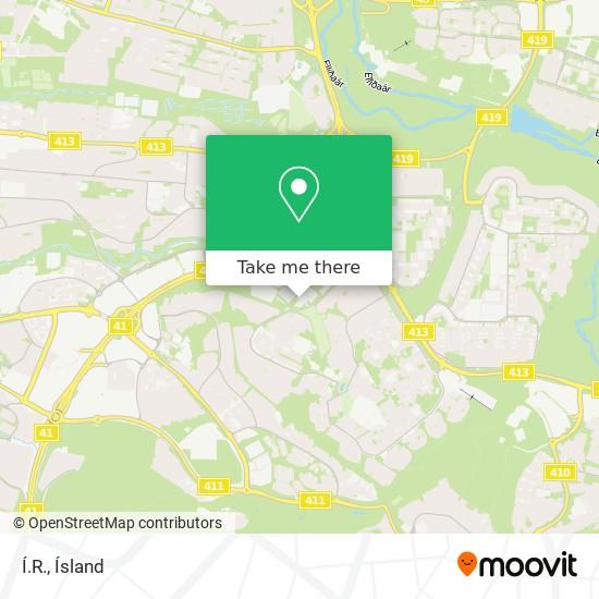 Í.R. map
