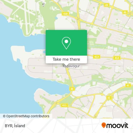 BYR map