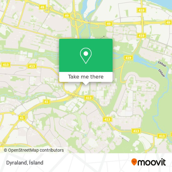 Dyraland map
