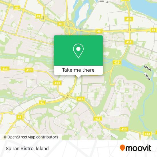 Spíran Bistró map