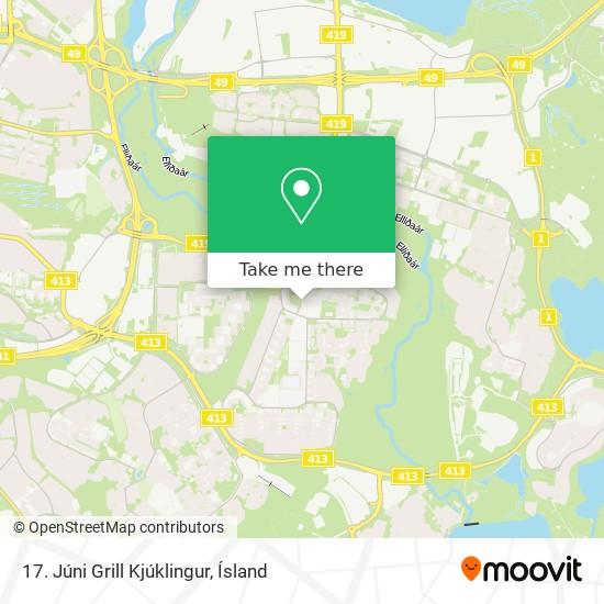 17. Júni Grill Kjúklingur map