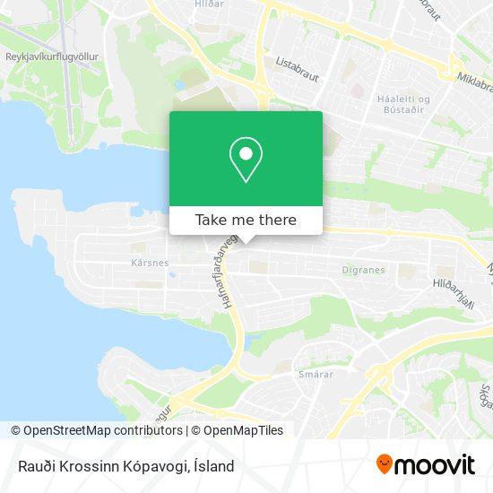 Rauði Krossinn Kópavogi map