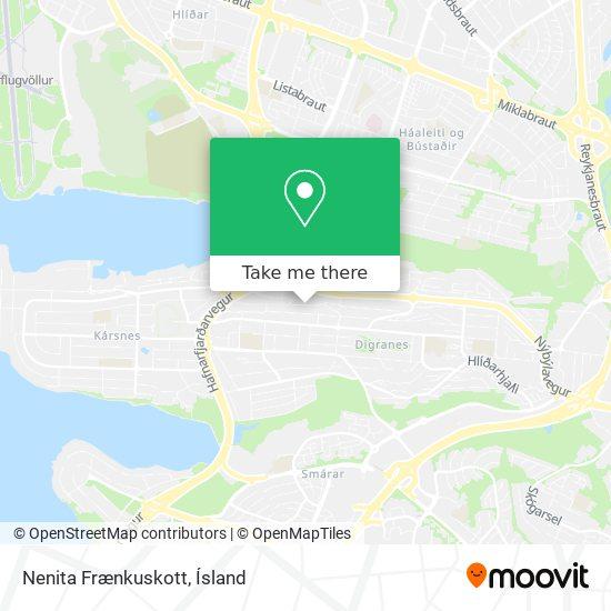 Nenita Frænkuskott map