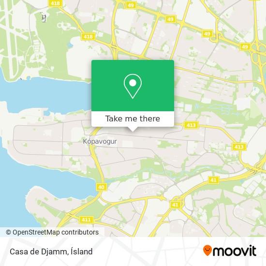 Casa de Djamm map