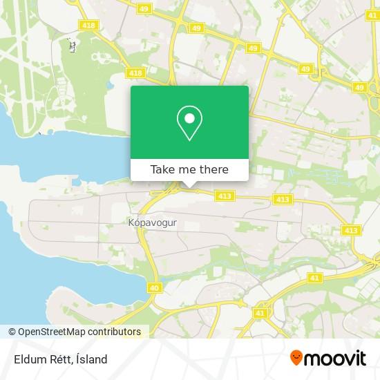 Eldum Rétt map
