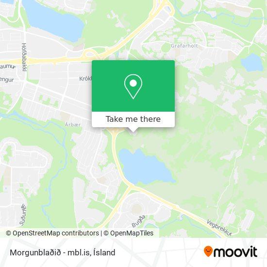 Morgunblaðið - mbl.is map