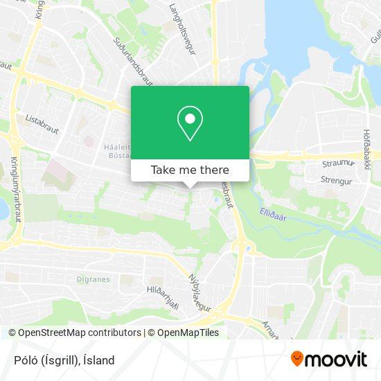 Póló (Ísgrill) map