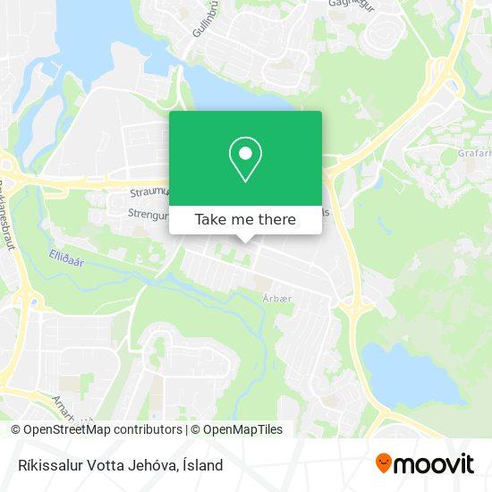 Ríkissalur Votta Jehóva map
