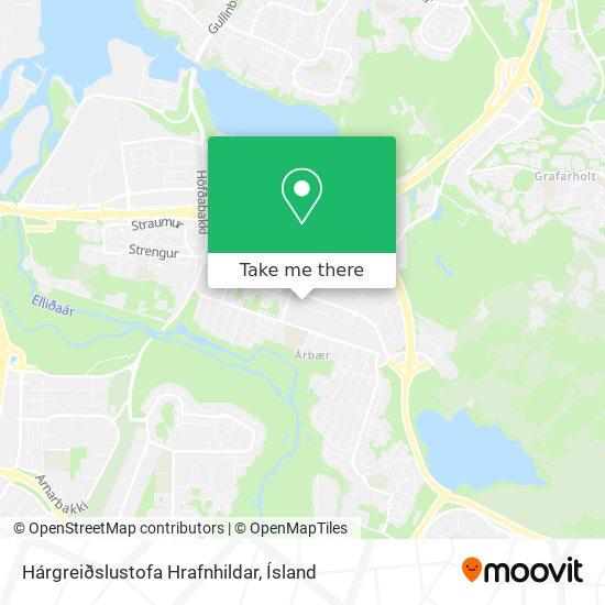 Hárgreiðslustofa Hrafnhildar map