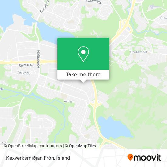 Kexverksmiðjan Frón map