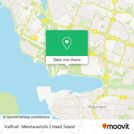 Kaffivel - Meistarastofa 2 Haed map