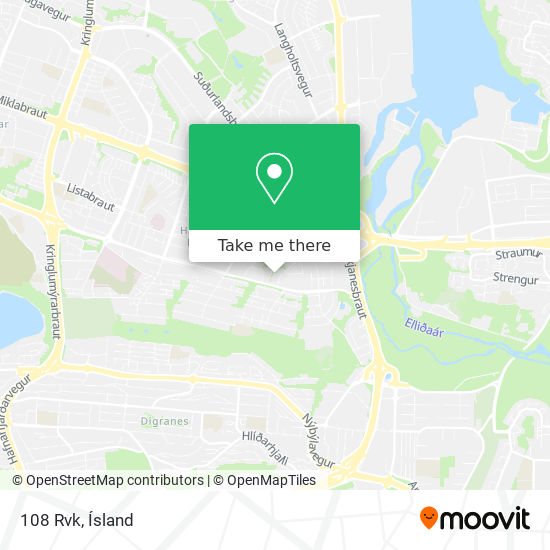 108 Rvk map