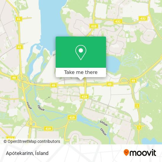 Apótekarinn map
