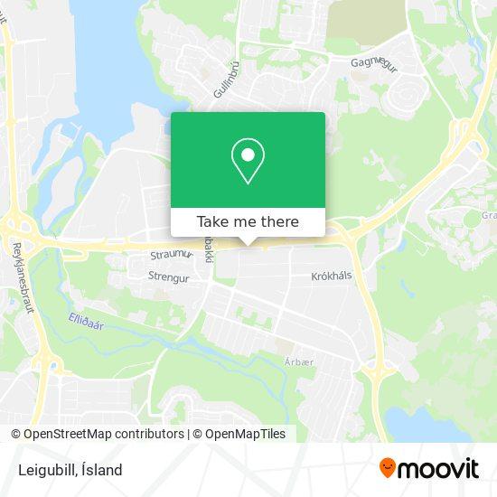 Leigubill map