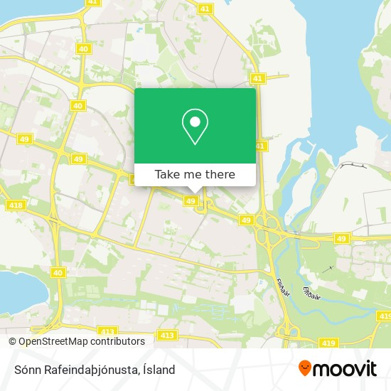 Sónn Rafeindaþjónusta map
