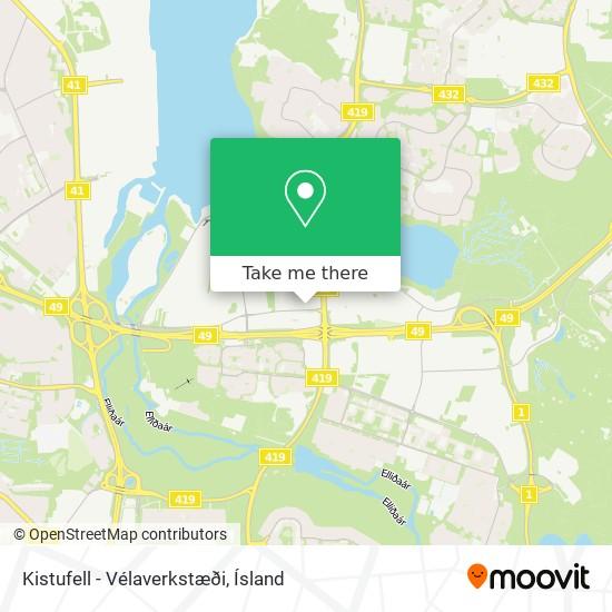 Kistufell - Vélaverkstæði map