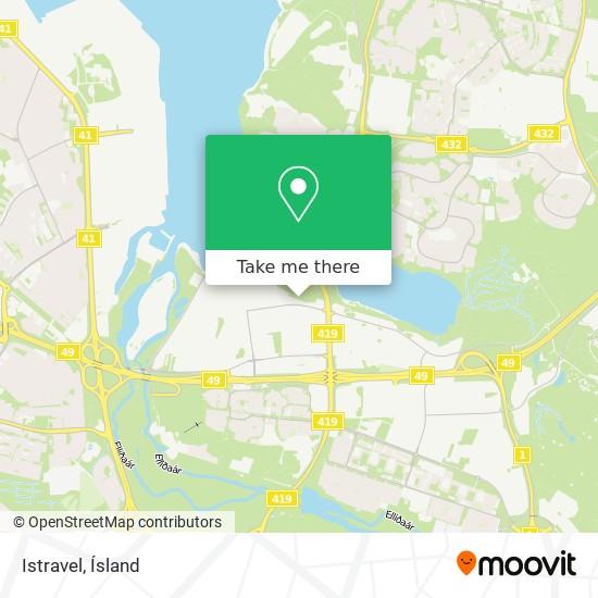 Istravel map