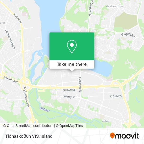 Tjónaskoðun VÍS map