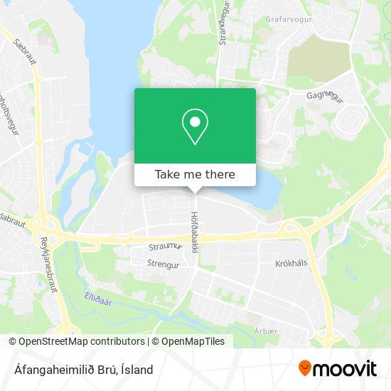 Áfangaheimilið Brú map